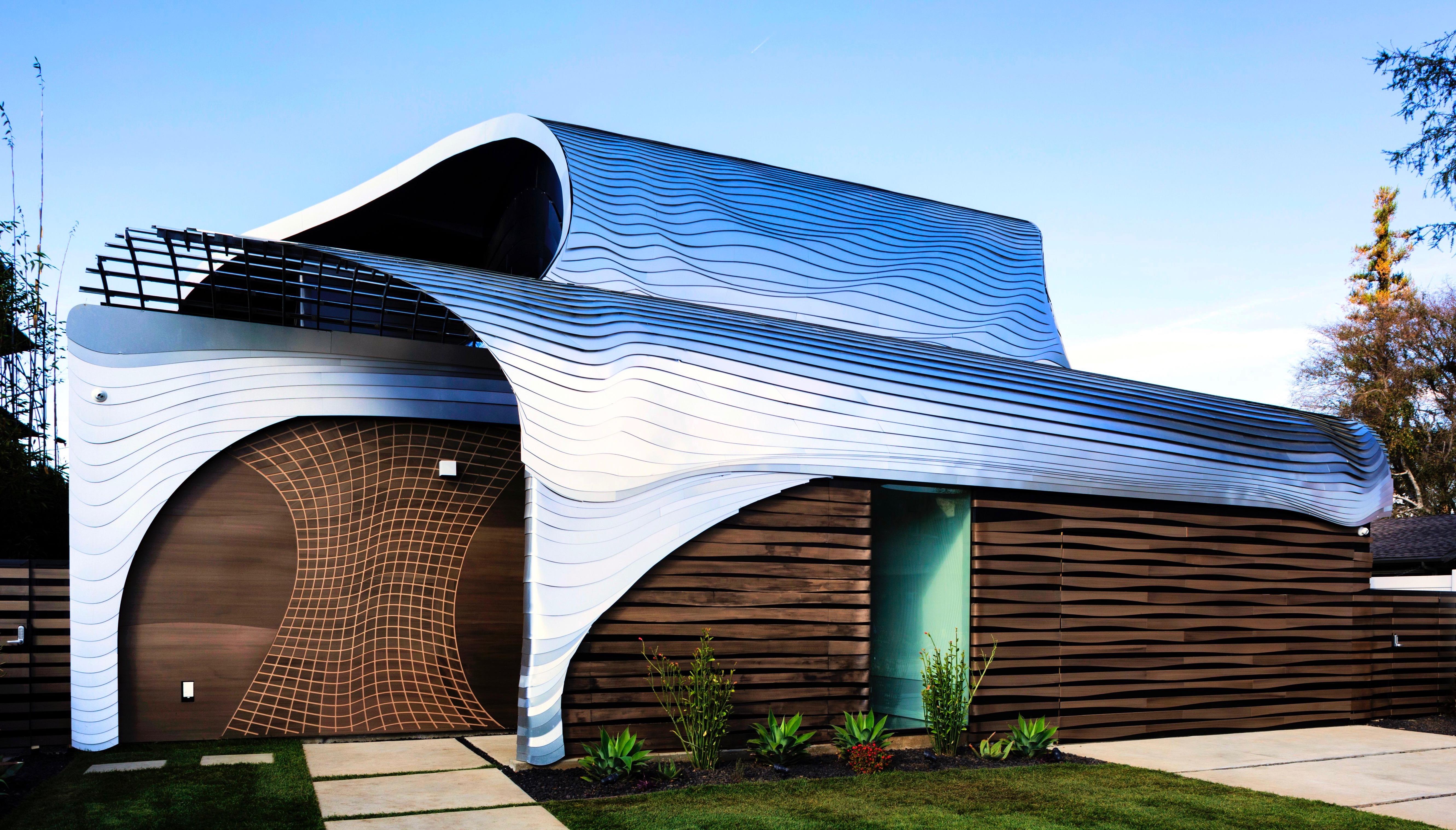 Mario Romano Preston House made of Resysta