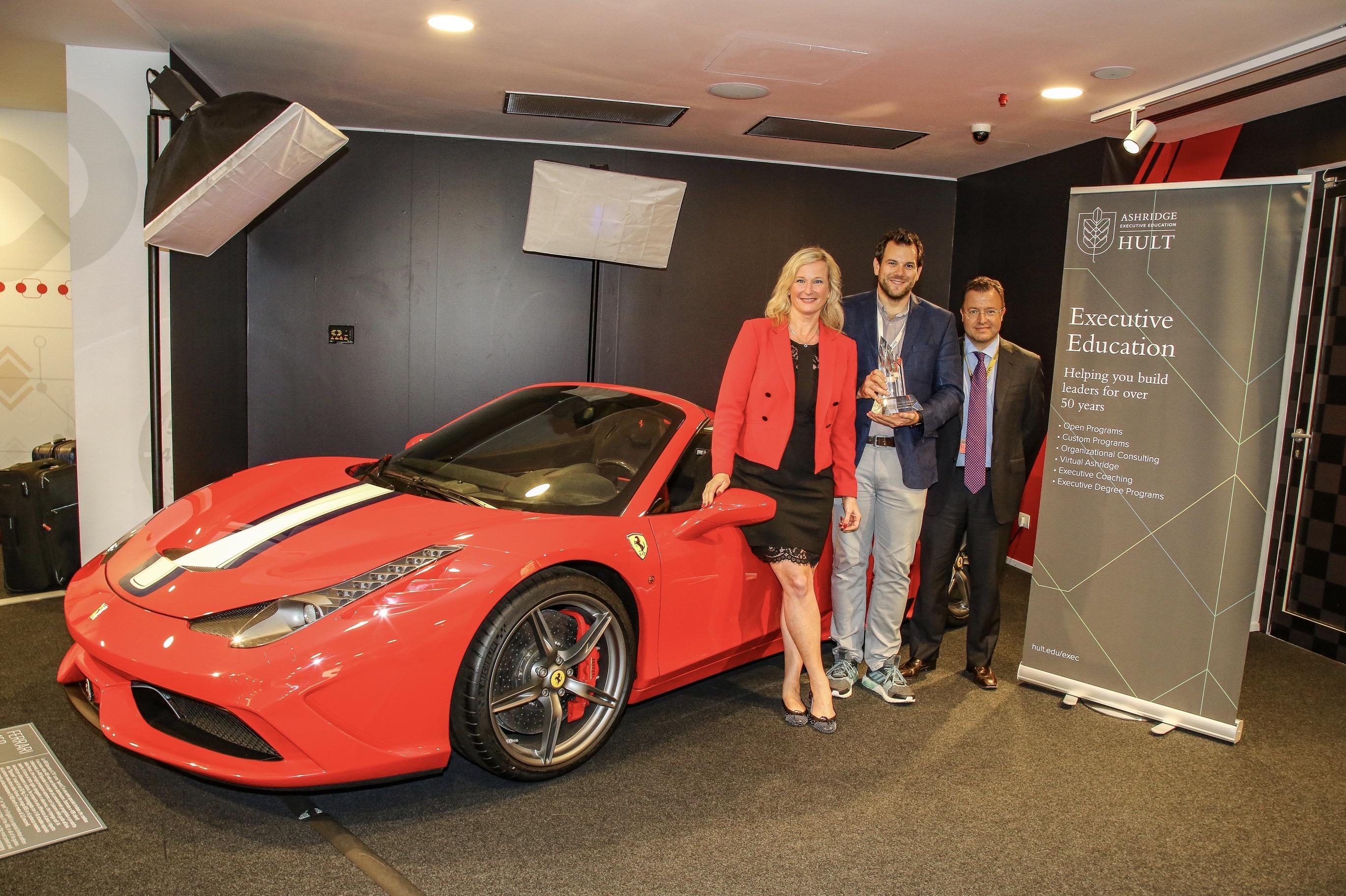 Ashridge Preisverleihung Digital Transformer 2018 bei Ferrari - Jury und Gewinner