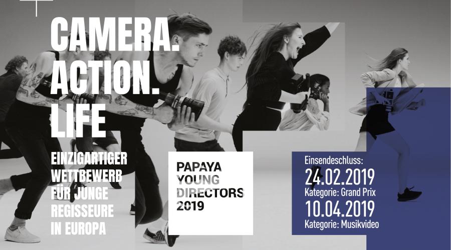 PAPAYA YOUNG DIRECTORS Filmwettbewerb 2019 gestartet