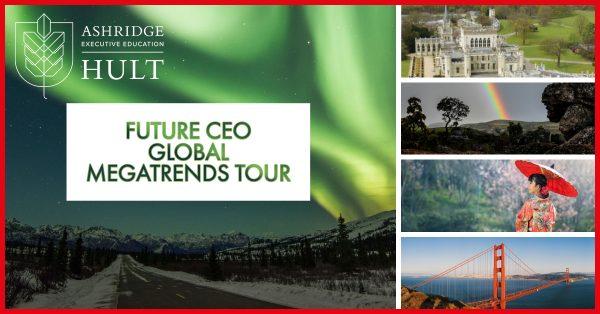 Future CEO Global Megatrends campaign aprioripr for Ashridge and ABB