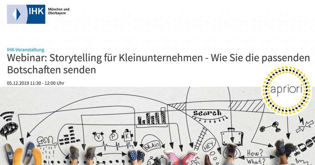 storytelling webinar apriori pr und marketing