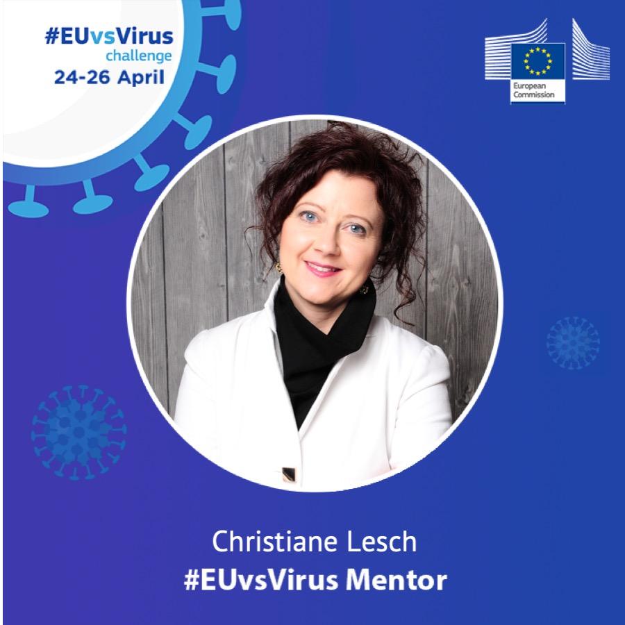 Christiane Lesch Mentor #EuvsVirus Hackathon